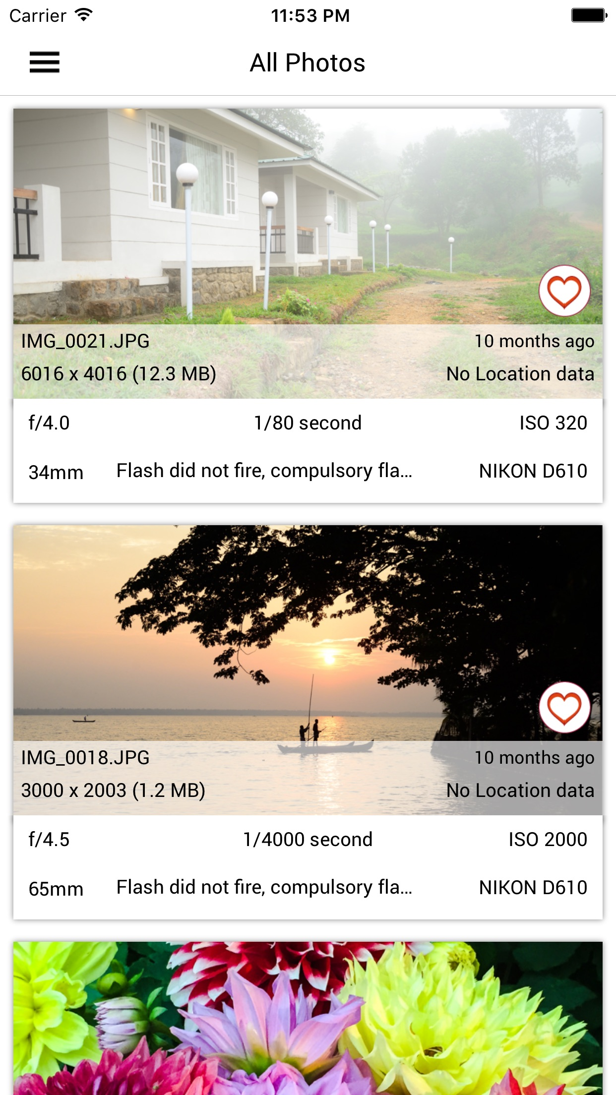 Exif Viewer by Fluntro 2.7 released for iOS - Displays EXIF Metadata Image