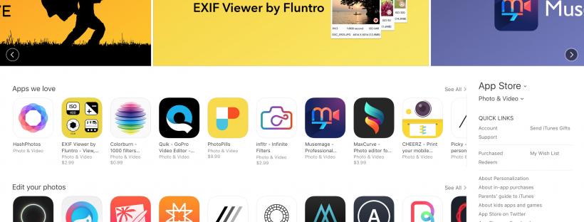 Blog - Exif Viewer App